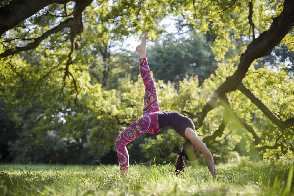 Yoga Lebensfreude