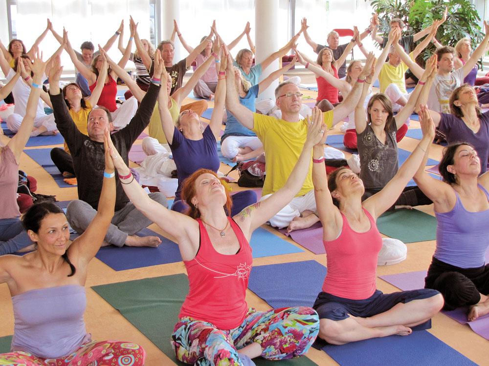 Yoga ist für jedermann