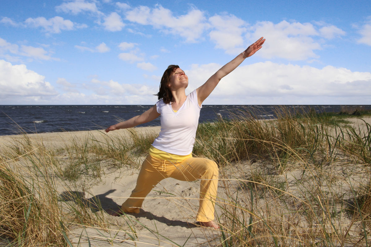 Yoga Vidya Yoga an der Nordsee