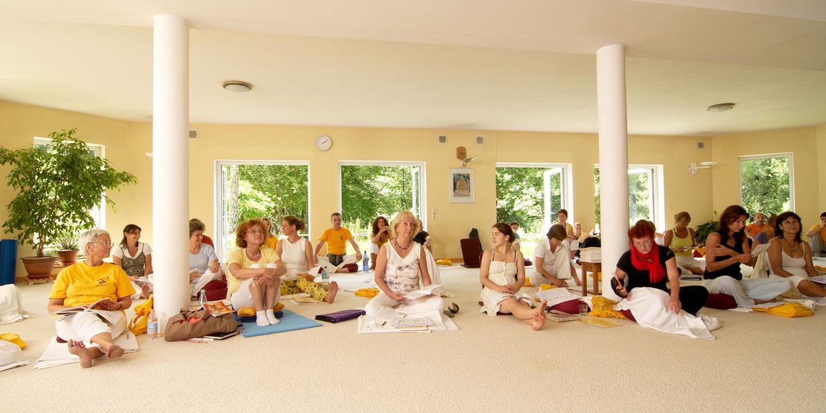 Westerwald Yoga Vidya Yogaraum